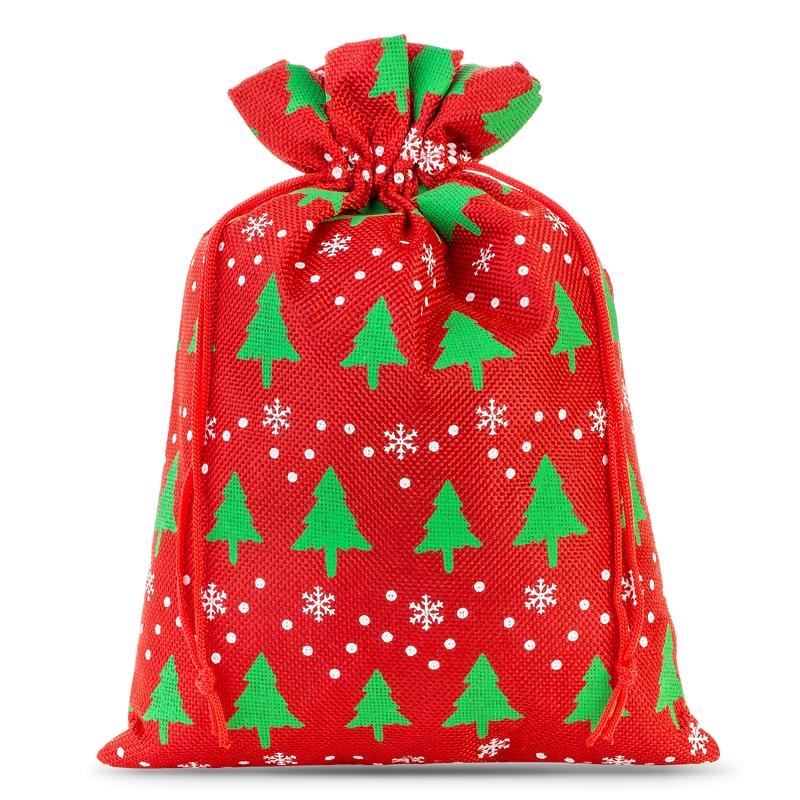 1 St. Jutesäckchen 30 x 40 cm - naturfarbe hell Weihnachtsbeutel