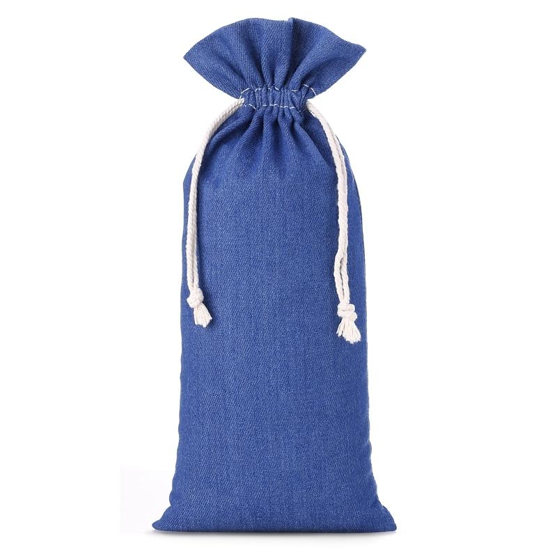 1 St. Jeans Beutel 16 x 37 cm - blau